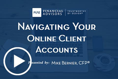 navigating client accounts