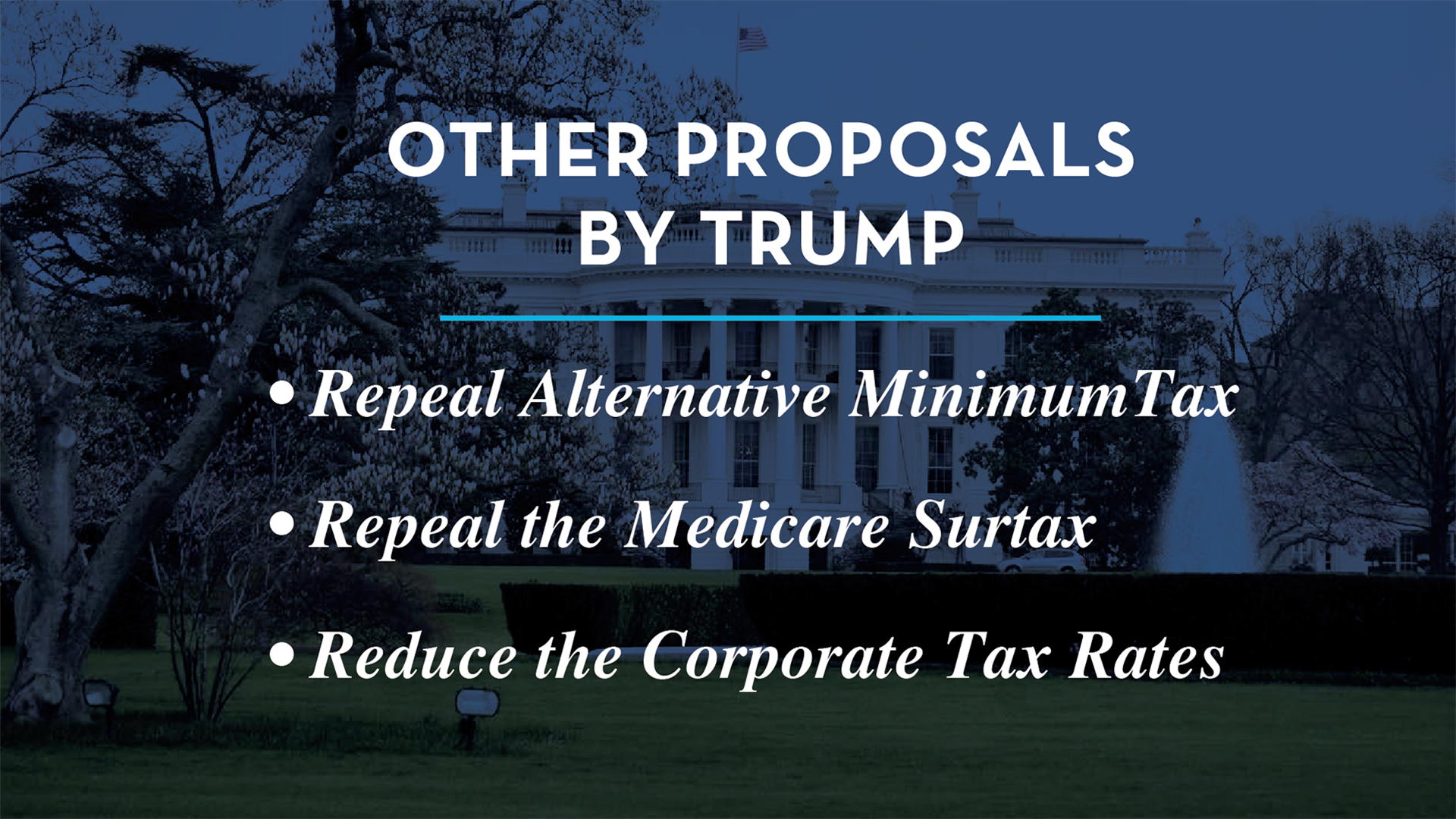 other proposals by trump slide 8