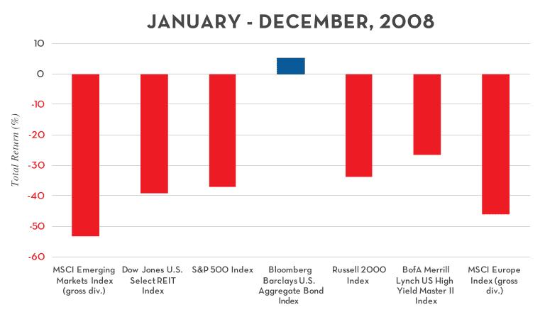2008 asset class performance