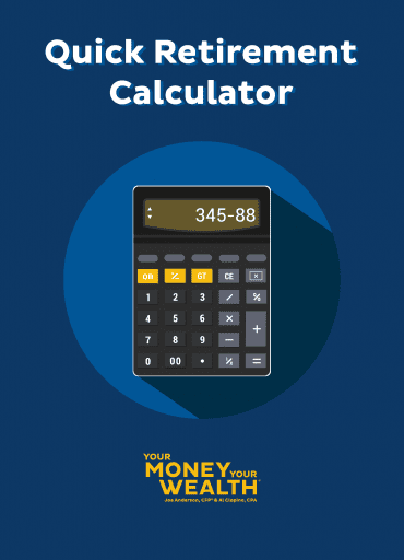 YMYW Quick Retirement Calculator Guide