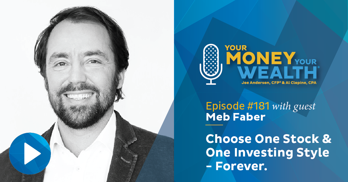 If You Had To Choose One Stock or One Investing Style Forever, What Would It Be? Meb Faber Answers