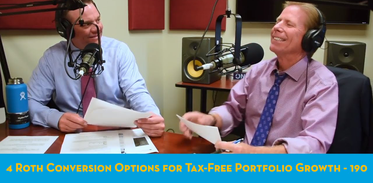 4 Roth Conversion Options for Tax-Free Portfolio Growth