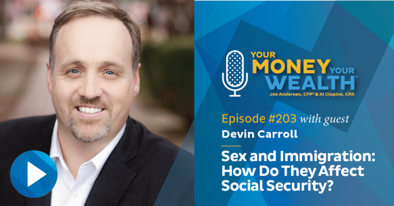 Devin Carroll on Sex and Immigration: How Do They Affect Social Security?