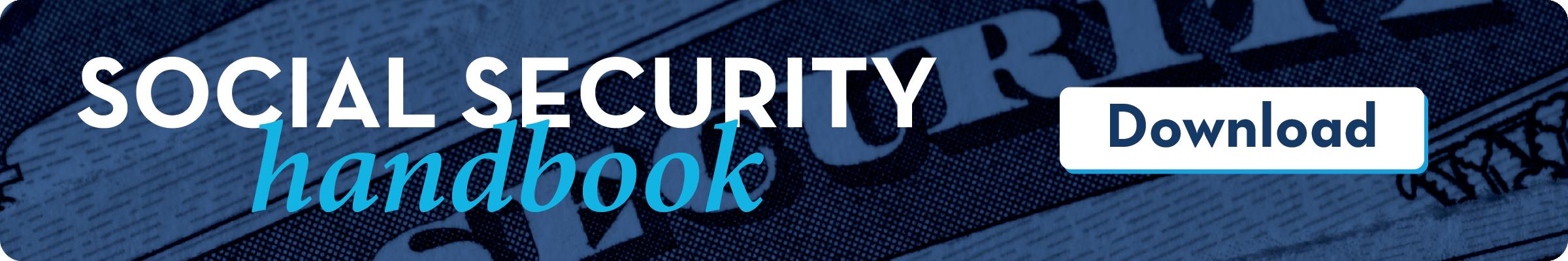 Social Security Handbook: Download Now