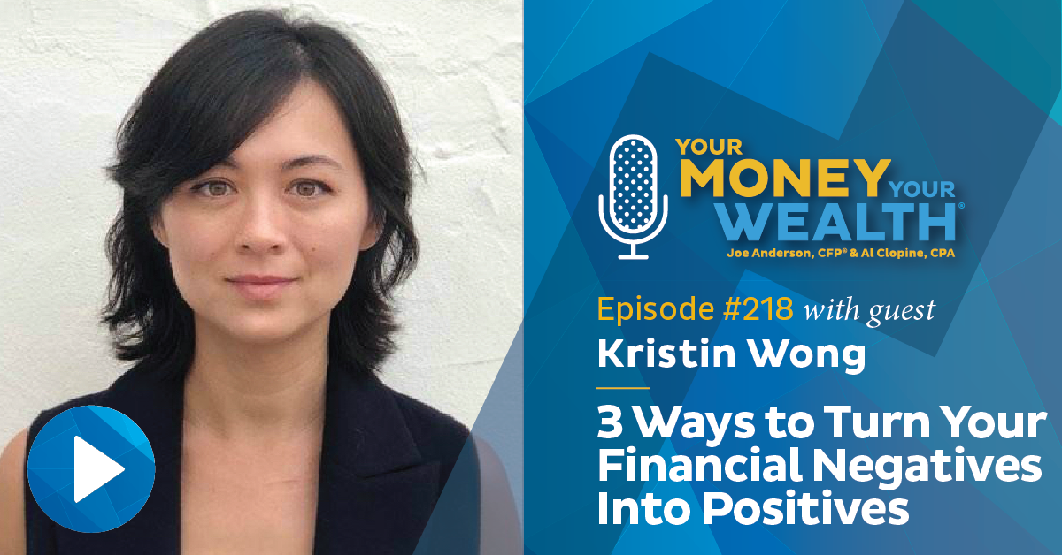 Kristin Wong: 3 Ways to Turn Your Financial Negatives Into Positives