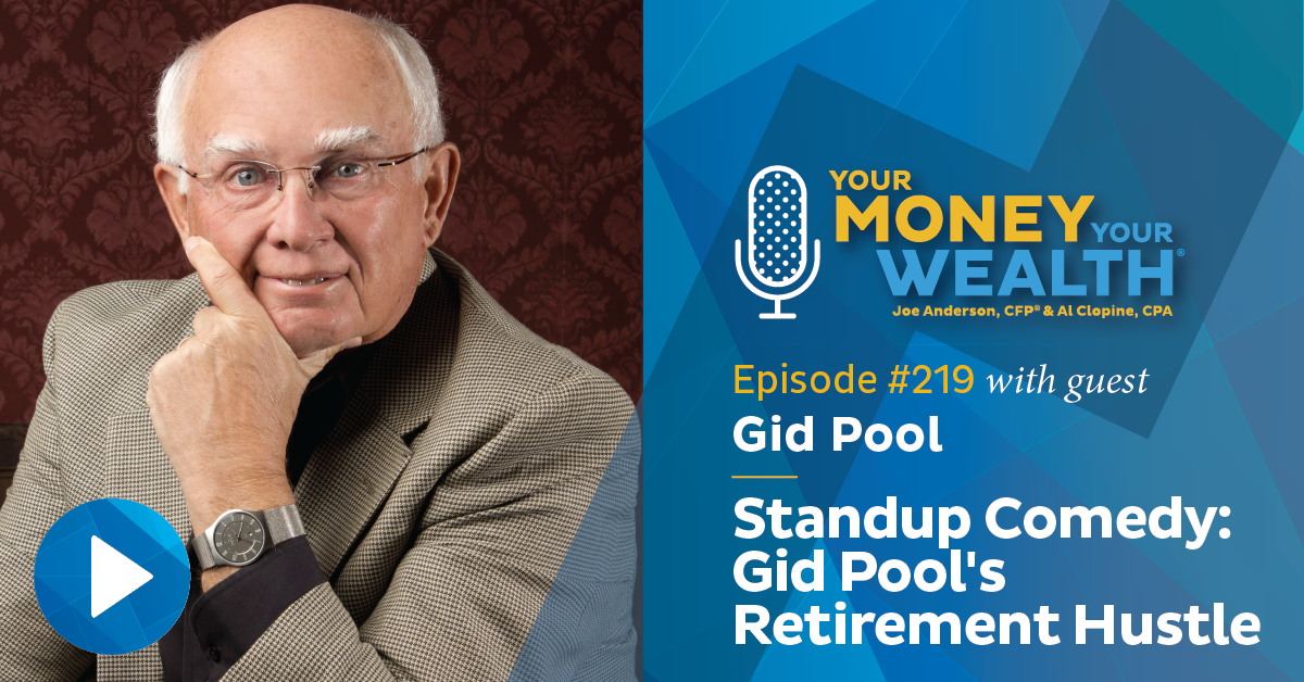 Standup Comedy: Gid Pool's Retirement Hustle