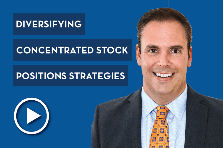 Strategies for Diversifying Concentrated Stock Positions