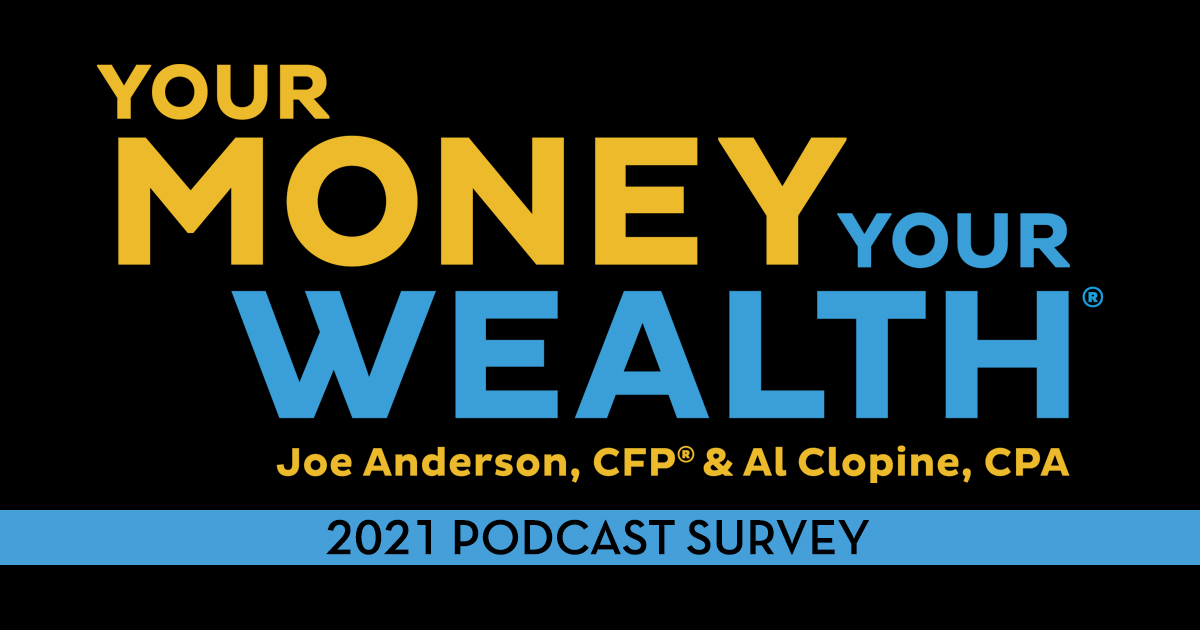 2021 Your Money, Your Wealth® Podcast Survey